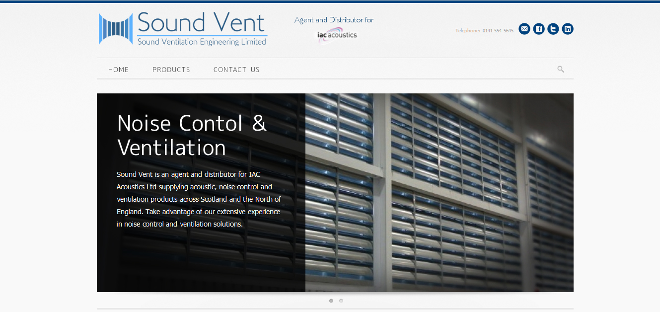 The Sound Ventilation Website is Live